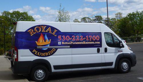 Royal Plumbing Van